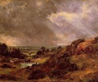 John Constable : Branch Hill Pond Hampstead