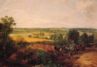 John Constable : View of Dedham