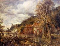 John Constable : Arundel Mill and Castle