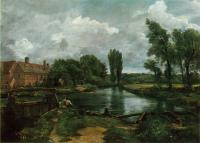 John Constable : A Water Mill, II