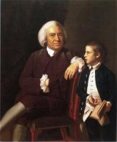 John Singleton Copley : William Vassall and His Son Leonard