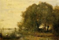 Jean-Baptiste-Camille Corot : Wooded Peninsula