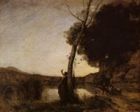 Jean-Baptiste-Camille Corot : The Evening Star