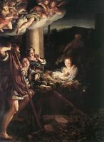 Correggio : Nativity (Holy Night)