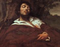 Gustave Courbet : Wounded Man