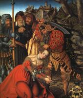 Lucas The Elder Cranach : The Martyrdom of St. Barbara