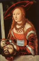 Lucas The Elder Cranach : Judith