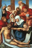 Lucas The Elder Cranach : Lamentation