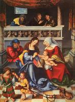 Lucas The Elder Cranach : The Holy Family