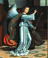 Gerard David : The Angel of the Annunciation