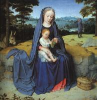 Gerard David : The Rest on the Flight into Egypt