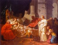 Jacques-Louis David : Antiochus and Stratonice