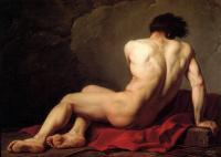 Jacques-Louis David : Male Nude known as Patroclus