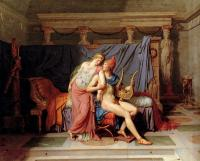 Jacques-Louis David : The Courtship of Paris and Helen