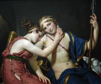 Jacques-Louis David : The Farewell of Telemachus and Eucharis