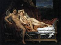Jacques-Louis David : Cupid and Psyche