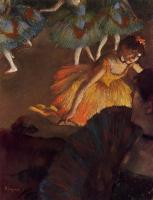 Edgar Degas : Ballerina and Lady with a Fan