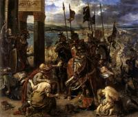 Eugene Delacroix : The Entry of the Crusaders into Constantinople