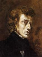 Eugene Delacroix : Frederic Chopin