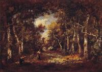 Narcisse-Virgile Diaz De La Pena : The Forest of Fontainebleau