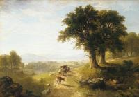 Asher Brown Durand : River Scene