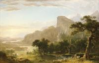 Asher Brown Durand : Landscape, Scene from Thanatopsis