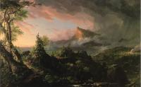 Asher Brown Durand : The Course of Empire