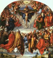Albrecht Durer : The Adoration of the Holy Trinity