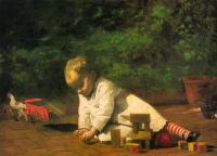 Thomas Eakins : Baby at Play