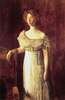 Thomas Eakins : The Old Fashioned Dress-Portrait of Miss Helen Parker