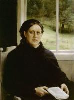 Albert Edelfelt : Mother of the Artist
