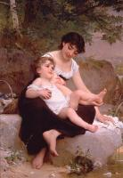 Emile Munier : mother and child