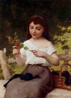 Emile Munier : A Sprig Of Flowers