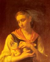 Emile Munier : The Favorite Kitten