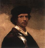 Carel Fabritius : Self-Portrait III