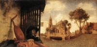 Carel Fabritius : View of the City of Delft