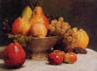 Henri Fantin-Latour : Bowl of Fruit