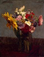 Henri Fantin-Latour : Bouquet of Flowers