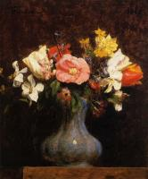 Henri Fantin-Latour : Narcissus and Tulips II