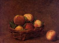 Henri Fantin-Latour : Still Life with Peaches