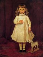 Frank Duveneck : F. B. Duveneck as a Child