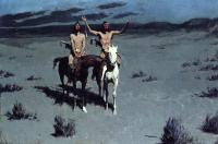 Frederic Remington : Pretty Mother of the Night