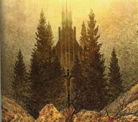 Caspar David Friedrich : The Cross on the Mountain