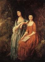 Thomas Gainsborough : The Linley Sisters (Mrs. Sheridan and Mrs. Tickell)