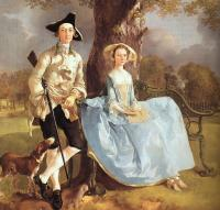 Thomas Gainsborough : Mr and Mrs Andrews