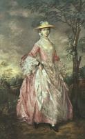 Thomas Gainsborough : Portrait of Mary Countess Howe