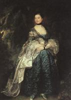 Thomas Gainsborough : Lady Alston