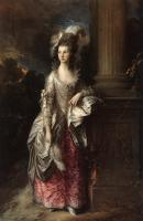 Thomas Gainsborough : The Honorable Mrs. Graham