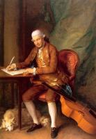 Thomas Gainsborough : Carl Friedrich Abel