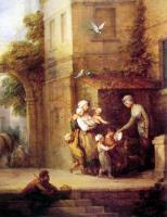 Thomas Gainsborough : Charity relieving Distress